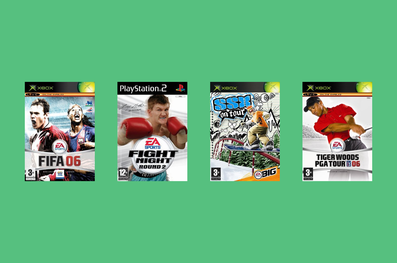 EA Sports covers