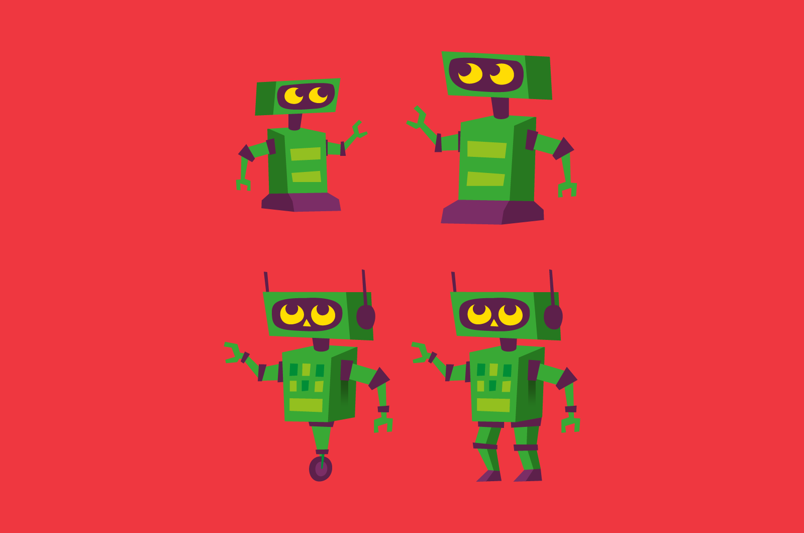 Academy Stars robots
